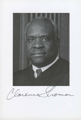 Clarence Thomas - Autographed Signed Photograph