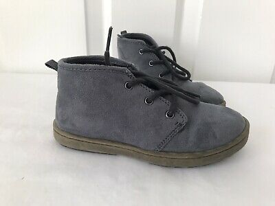 Toddler Boys Osh Kosh Suede Boots Blue Size 11