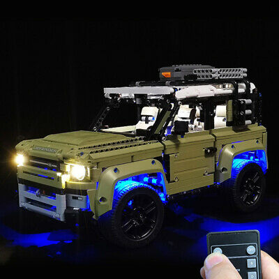 Vonado LED Lighting Building Block Modification Kit for Land Rover Defender42110