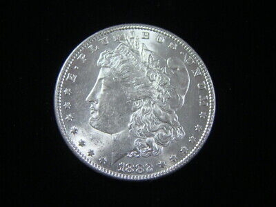 "1882 Morgan de Plata Dólar Brilliant Uncirculated"" ""Bonito"
