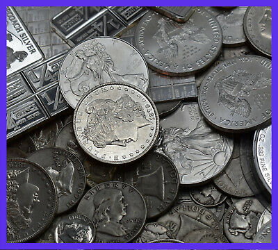 ⚡️Gold and Silver Estate Lot Sale ✯ Old US Coins ✯ Bullion ✯ .999 Silver Bars⚡️