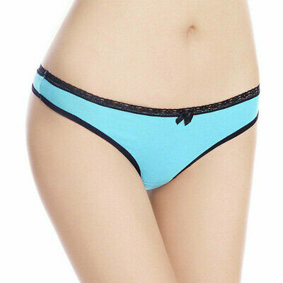 Sexy Women Cotton Underwear Gstring Thongs Panties Tback Bikini Random t