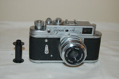 Zorki-4 Vintage 1968 Rangefinder Camera and Industar lens. No.68013219. UK Sale