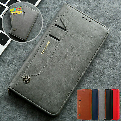iPhone 11 Pro Max XR XS 7 8 6 Magnetic Flip Leather Wallet Card Case Stand Cover