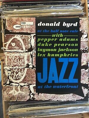 Donald Byrd 'Jazz At The Waterfront' Blue Note Jazz Vinyl LP