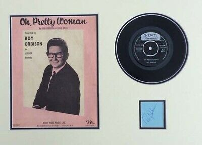 Roy Orbison (Oh Pretty Woman) Signed Autograph