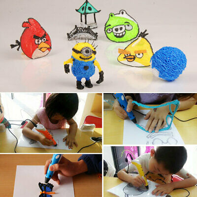 3D Printing Pen Arts Crafting Doodle Pen Draw Printer Modeling Toy Children Gift
