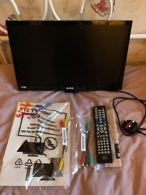 """Alba 19"""" Hd Ready Freeview Led Tv/Dvd Combi, Model Vl19Hdled-D Both 6Mths Old"""