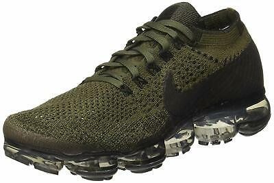 Nike Mens Air Vapormax Flyknit Fabric Low Top Lace Up Trail, Brown, Size 12.5