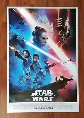 Orig. Star Wars The Rise of Skywalke 2019 Final DS  Movie Poster 27X40 inches