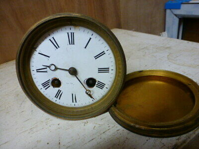 French clock movement for spares / repair (3)