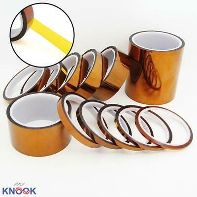 5-100mm 33M Heat Resistant Tape High Temperature Polyimide Kapton Fixation Tape
