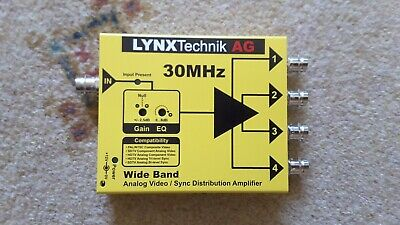 Lynx Technik DVA1714 Yellowbrik Video Distribution Amplifier