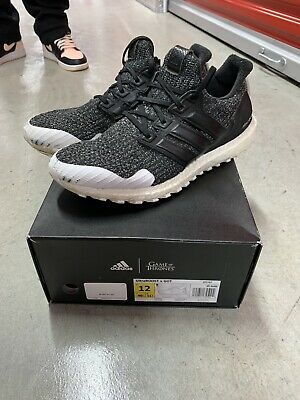 "adidas Ultra Boost 4.0, Game of Thrones ""Nights Watch,"" Men's Size 12 [EE3707]"