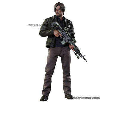 1//6 Scale Hot Toys VGM22 Resident Evil Leon S Kennedy hand//feet pegs