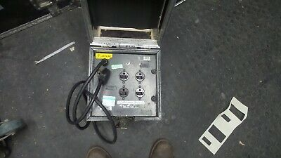 STAGE LIGHTING - Flightcased 115V Isolating Transformer