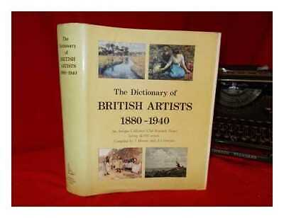 The Dictionary of British artists. Vol.5 1880-1940: an Antique Collectors'...