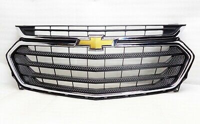 2018-2019 Chevrolet Traverse Front Bumper Grille Grill Chrome 23376131 Oem