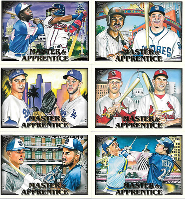 2019 Topps Gallery Insert & Parallel Singles***You Pick***