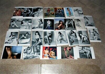 """Bettie Page (Dealers Lot of 28)  4"""" X 6"""" Nude/Risque photo prints Ships Free"""