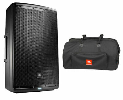 JBL EON615 Active Speaker Powered Monitor Loudspeaker + Bag with Wheels