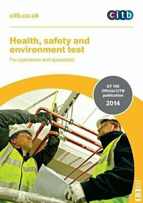 Health, Safety and Environment Test for Operatives and Specialists: GT 100/13.