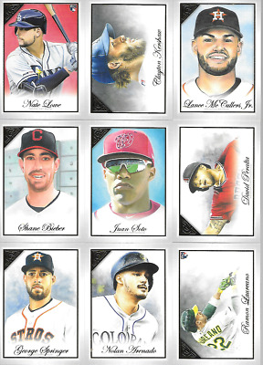 2019 Topps Gallery Singles***You Pick***