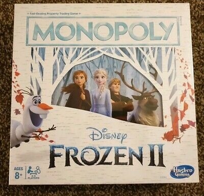 New Monopoly - Disney Frozen II Edition Board Game