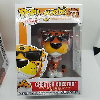 Funko Pop Chester Cheetah #77 Ad Icons IN STOCK AND READY TO SHIP