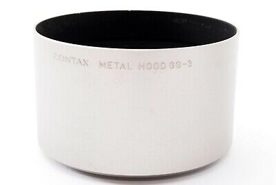 """""""MINT"""" Contax Carl Zeiss Metal Lens Hood GG-3 for G Lens from Japan #878"""
