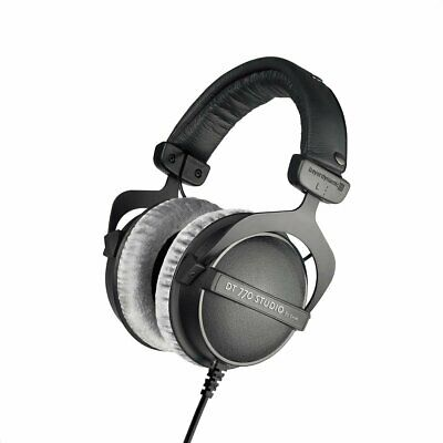 NEW! Beyerdynamic DT 770 STUDIO 80 OHM Studio Headphones Color Black
