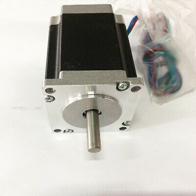 EU Free Ship Nema 23 stepper motor 270 oz.in 4.2A 8mm*25mm shaft CNC machine