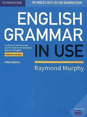 English Grammar in Use Book without Answers: A Self-study Reference and Practice