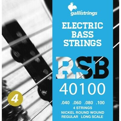 MUTA PER BASSO GALLI STRINGS RSB40100 4 CORDE  Regular