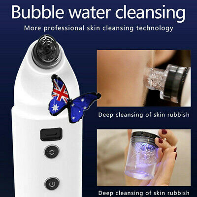 Electric Facial Skin Care Pore Blackhead Remover suction Cleaner Vacuum Acne or