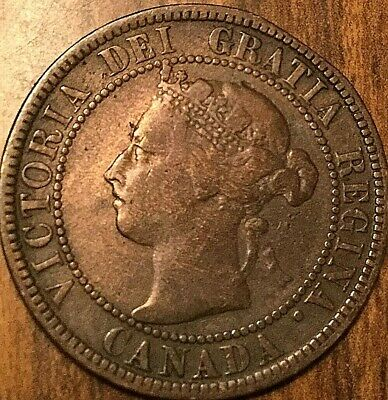 1896 Canada Large Cent Large 1 Cent Penny