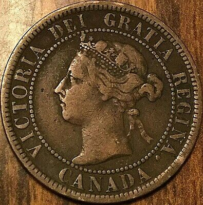 1901 Canada Large Cent Large 1 Cent Penny