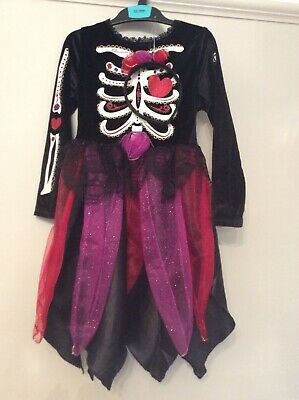 Marks And Spencer Black Dressing Up Outfit/Headband Age 5-6 New/Tags