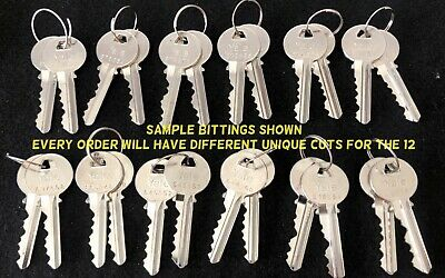 Precut Yale Original Keys in Schlage SC4 6 Pin Keyway Qty 12 Sets