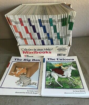 SRA Collections for Young Scholars Level C Phonics 110 Mini Book Teacher's Set
