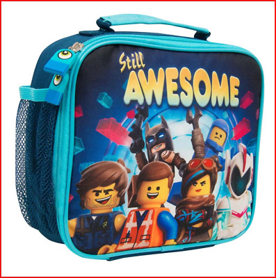 LEGO Movie 2 Lunch Bag for Kids Batman Insulated Container for Kids with Handle