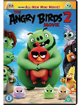 Angry Birds Movie 2 The DVD NEW