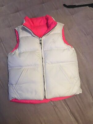 Ralph Lauren Gillet Pink And White Reversable Age 5