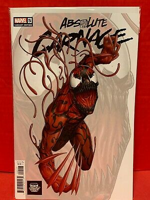 Absolute Carnage #5 LCSD 2019 Variant Marvel Comic Venom Stegman Cates Spiderman