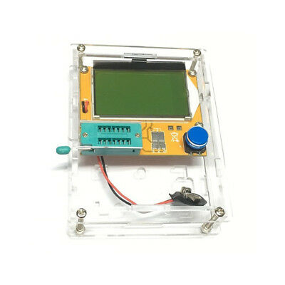 LCR-T4 Mega428 Backlit Component Tester ESR Meter Kit LCD Display With Case