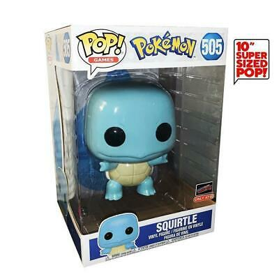 Squirtle (10-Inch) - Pop! Games #505 (Pokémon) (2019 NYCC EE x Target Debut Stic