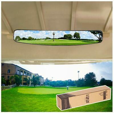 "16.5"" Extra Wide Panoramic Rear View Mirror for Golf Cart EzGo Club Car Yamaha"