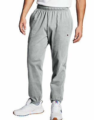 Champion Authentic Men's Athletic Pants Closed Bottom Jersey Sweatpants Workout