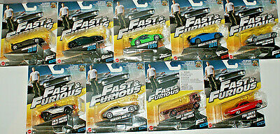 Fast and Furious Diecast Vehicle *Choose Your Favourite*
