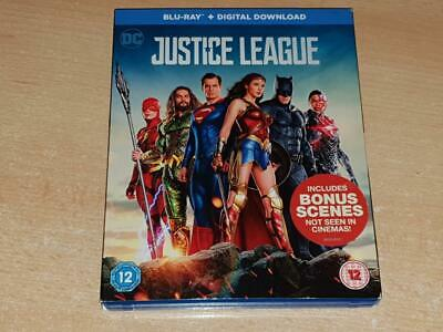 Justice League Blu Ray 2017 **FREE UK POSTAGE**